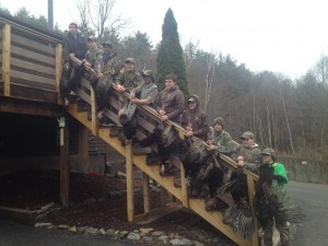 SSC youth turkey hunters 2014